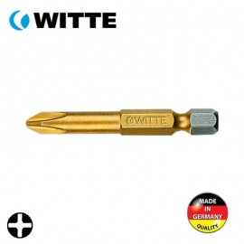 "Μύτη PH2 1/4"" 50mm TIN WITTE 4927521"