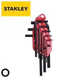 Κλειδιά άλλεν μετρικό σετ 10τεμ. STANLEY 0-69-253