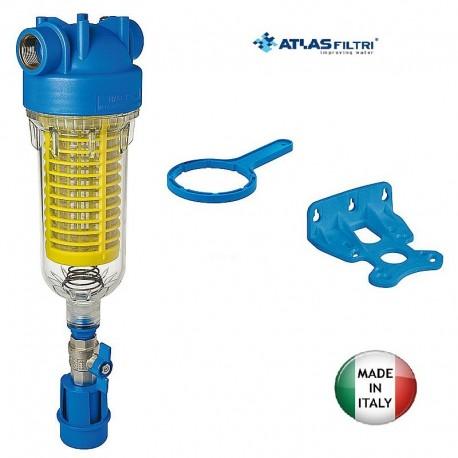 """Συσκευή φίλτρου κεντρικής παροχής αυτοκαθαριζόμενο Hydra RAH 90μm 1/2"""" Atlas Filtri 251131"""