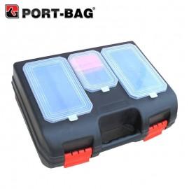Εργαλειοθήκη ηλεκτρικών εργαλείων με θήκες Port-Bag PM02