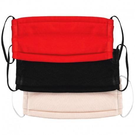Μάσκα προστασίας πολλαπλών χρήσεων υφασμάτινη 3 χρώματα OEM