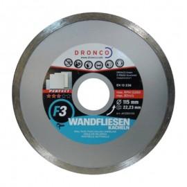 Δίσκος διαμαντέ πλακιδίων Φ115 Perfect F3 DRONCO