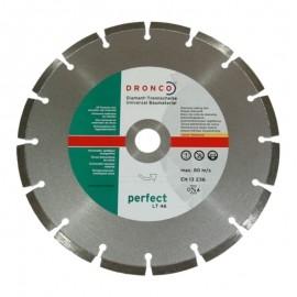 Δίσκος διαμαντέ δομικών υλικών Φ230 Perfect LT46 DRONCO