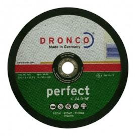 Δίσκος κοπής πέτρας 230x3mmx22.23mm Perfect C 24 R-BF DRONCO