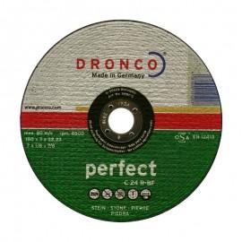 Δίσκος κοπής πέτρας 180x3mmx22.23mm Perfect C 24 R-BF DRONCO