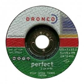 Δίσκος κοπής πέτρας 125x3mmx22.23mm Perfect C 24 R-BF DRONCO