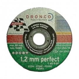 Δίσκος κοπής πέτρας 115x1.2mmx22.23mm Perfect C 60 R-BF DRONCO