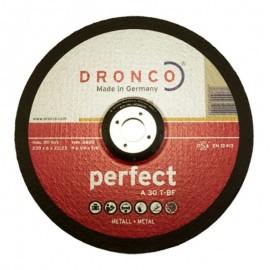 Δίσκος λείανσης μετάλλου 230x6x22.23mm Perfect A 30 T-BF DRONCO