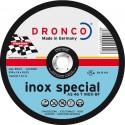 Δίσκος κοπής Inox 125x1.6x22.23mm Inox Special AS 46 T INOX BF DRONCO