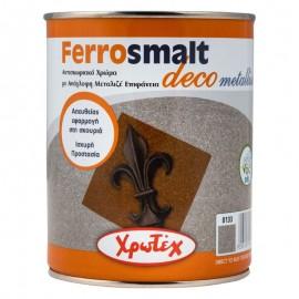 FERROSMALT DECO Metallise 8159 Γκρι Ανθρακί 750ml ΧΡΩΤΕΧ