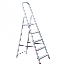 Σκάλα αλουμινίου 6+1 σκαλοπάτια 1.58m ύψος OEM