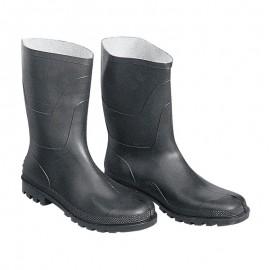 Μπότες κνήμης PVC μαύρες Ιταλίας OEM