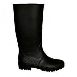 Μπότες γόνατου PVC μαύρες Ιταλίας OEM