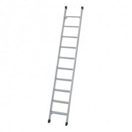 Σκάλα αλουμινίου μονή 2.5m 9 σκαλοπάτια Νο809 OEM