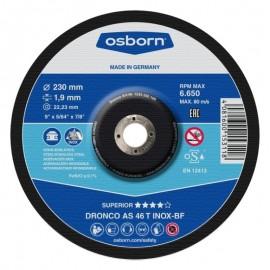 Δίσκος κοπής Inox 230x1.9x22.23mm Inox Special AS 46 T INOX BF DRONCO