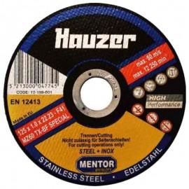 Δίσκος κοπής INOX Φ115, Φ125 Hauzer