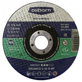 Δίσκος κοπής πέτρας 125x3mmx22.23mm Perfect DRONCO C 24 R-BF OSBORN