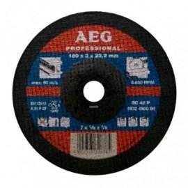 Δίσκοι Κοπής Μετάλλου 180Χ 3 Χ 22,2mm SC 41 P AEG