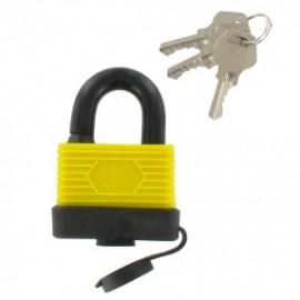 Λουκέτο Νο40 αδιάβροχο με 3 κλειδιά WORK IT