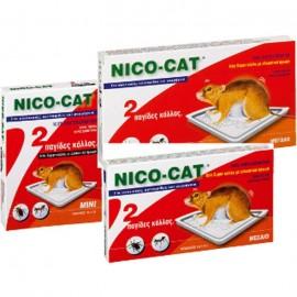 Κόλλα Ποντικιών σε πιάτο Μεγάλο NicoCat Vitapharm