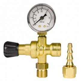 Ρυθμιστής πίεσης για φιάλη αερίου μιάς χρήσης (SGA-Αέριο ARGON) Einhell