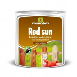 Βερνίκι ξύλου Red Sun 180ml σε 9 αποχρώσεις Χρωμοδομή