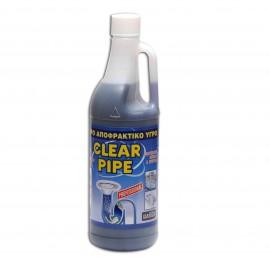 Αποφρακτικό υγρό 1lt CLEAR PIPE Davos