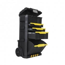 Εργαλειοφόρος τροχήλατος με αποσπώμενη εργαλειοθήκη stanley 1-79-206