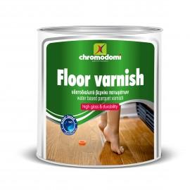 Floor Varnish Νερού  Βερνίκι Πατωμάτων Χρωμοδομή