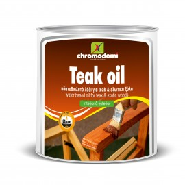 Teak oil 750ml Λάδι ξύλου Χρωμοδομή