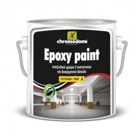 Εποξικό Χρώμα 2 συστατικών Epoxy Paint Χρωμοδομή
