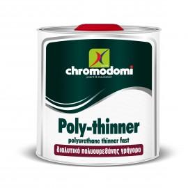 Διαλυτικό Πολυουρεθάνης Poly-Thinner Χρωμοδομή
