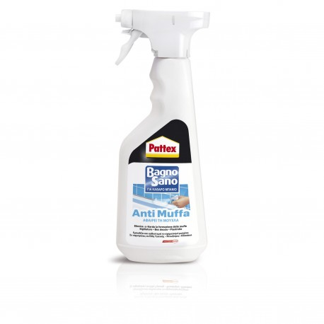 Pattex Bagno Sano Antimuffa Spray 500ml Αντιμουχλικό σπρέι