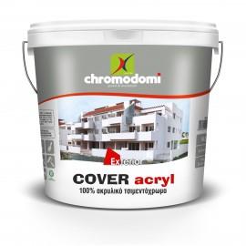 Τσιμεντόχρωμα Λευκό Cover Acrylic Χρωμοδομή