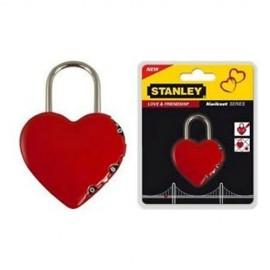 Λουκέτο συνδιασμού σε σχήμα καρδίας Stanley. S742-065