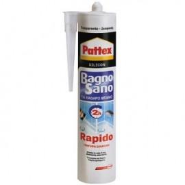 Σιλικόνη RAPIDO 300ml Ανθεκτική Στην Μούχλα  Διάφανη PATTEX