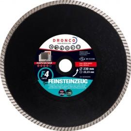 Δίσκος διαμαντέ κεραμικών Φ115 Superior F4 Cera DRONCO