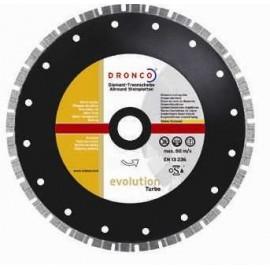 Δίσκος  Διαμαντέ Φ115 Γρανίτη evoloution Turbo Dronco