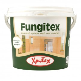 FUNGITEX ECO Λευκό Αντιμουχλικό πλαστικό χρώμα 0,75lt Χρωτεχ