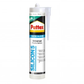 Σιλικόνη αντιμουχλική SILICON5 280ml PATTEX