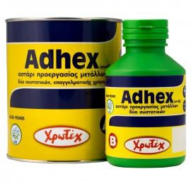 ADHEX A+B Αστάρι για αλουμίνιο και γαλβανιζέ επιφάνειες  ΧΡΩΤΕΧ