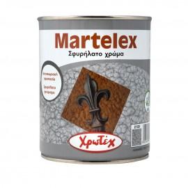 MARTELEX Νο2133 Ασημί Σφυρήλατο χρώμα 2,5lt Χρωτεχ