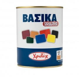 Βασικά πλαστικών χρωμάτων Νο 605 Κίτρινο ΧΡΩΤΕΧ