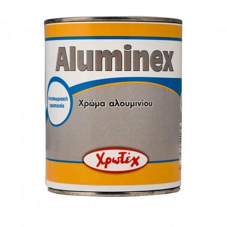 ALUMINEX Χρώμα αλουμινίου 0,25lt ΧΡΩΤΕΧ