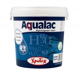 AQUALAC Λευκό satine ριπολίνη νερού 0,75lt ΧΡΩΤΕΧ
