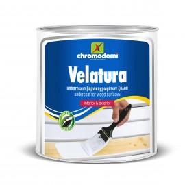 VELATURA Βελατούρα λευκή διαλύτου Χρωμοδομή