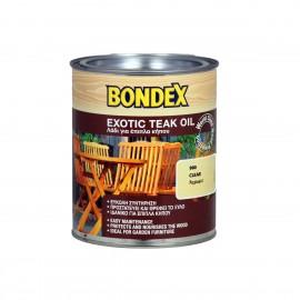 Λάδι συντήρησης ξύλου Exotic teak oil Bondex 0,50 ml