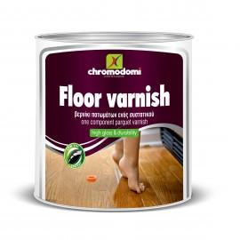 Floor Varnish  Διαλύτου 750 ml Βερνίκι πατωμάτων Χρωμοδομή