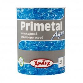 PRIMETAL AQUA Αντισκωριακό αστάρι νερού Γκρι 0,75lt Χρωτεχ