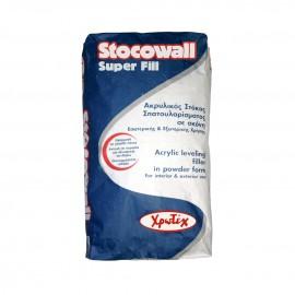 STOCOWALL SUPER FILL Ακρυλικός στόκος 20Kg Χρωτέχ
